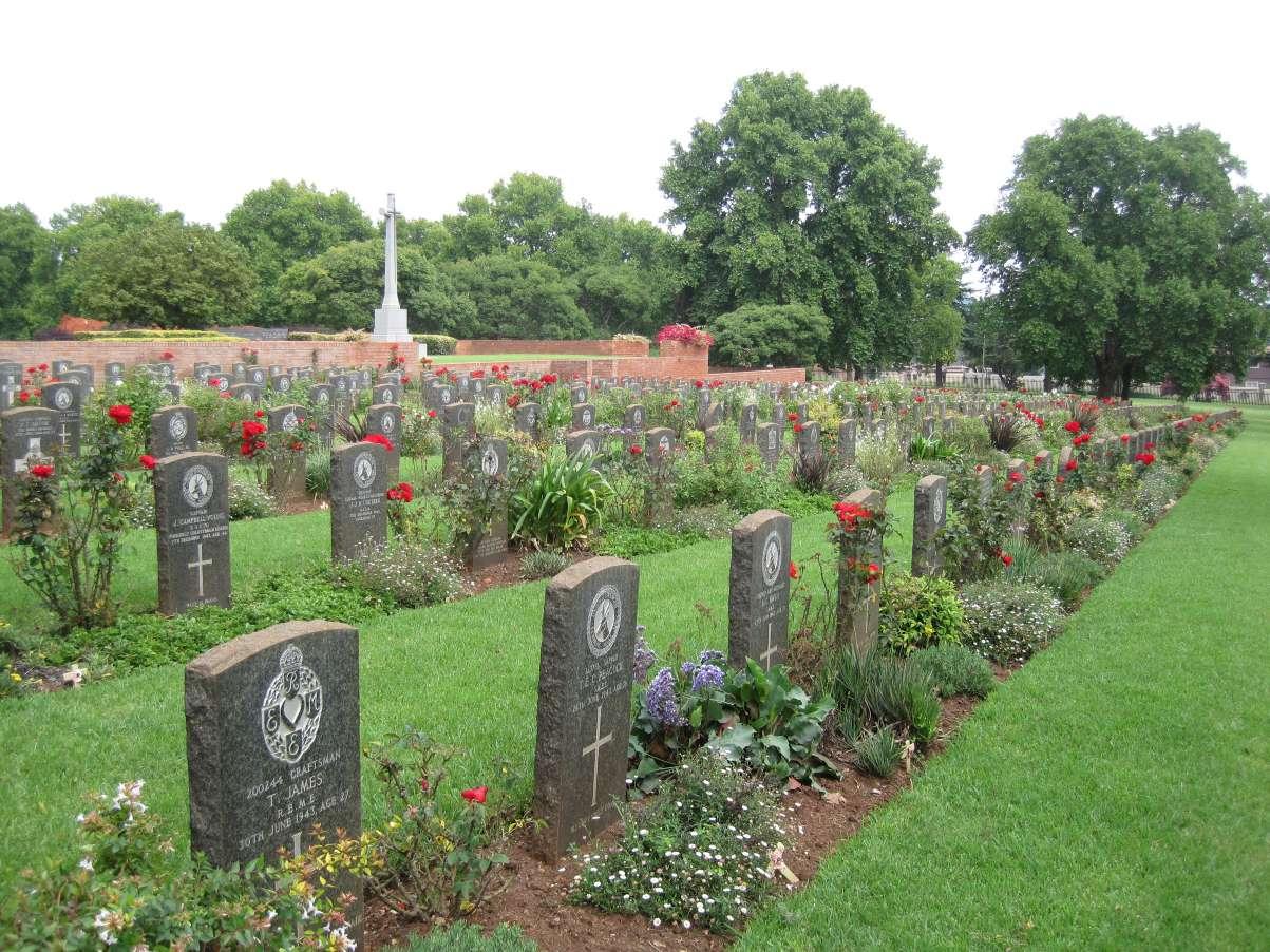 JOHANNESBURG (WEST PARK) CEMETERY - CWGC