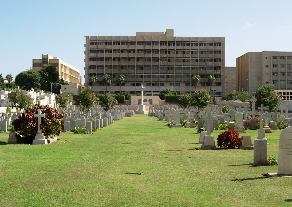 ALEXANDRIA (CHATBY) MILITARY AND WAR MEMORIAL CEMETERY - CWGC