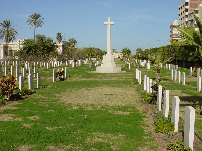 PORT SAID WAR MEMORIAL CEMETERY - CWGC