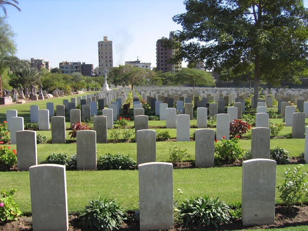 CAIRO WAR MEMORIAL CEMETERY - CWGC