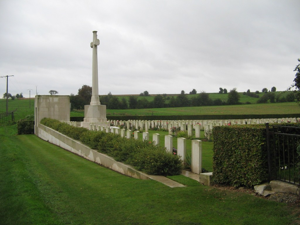 FORCEVILLE COMMUNAL CEMETERY AND EXTENSION - CWGC
