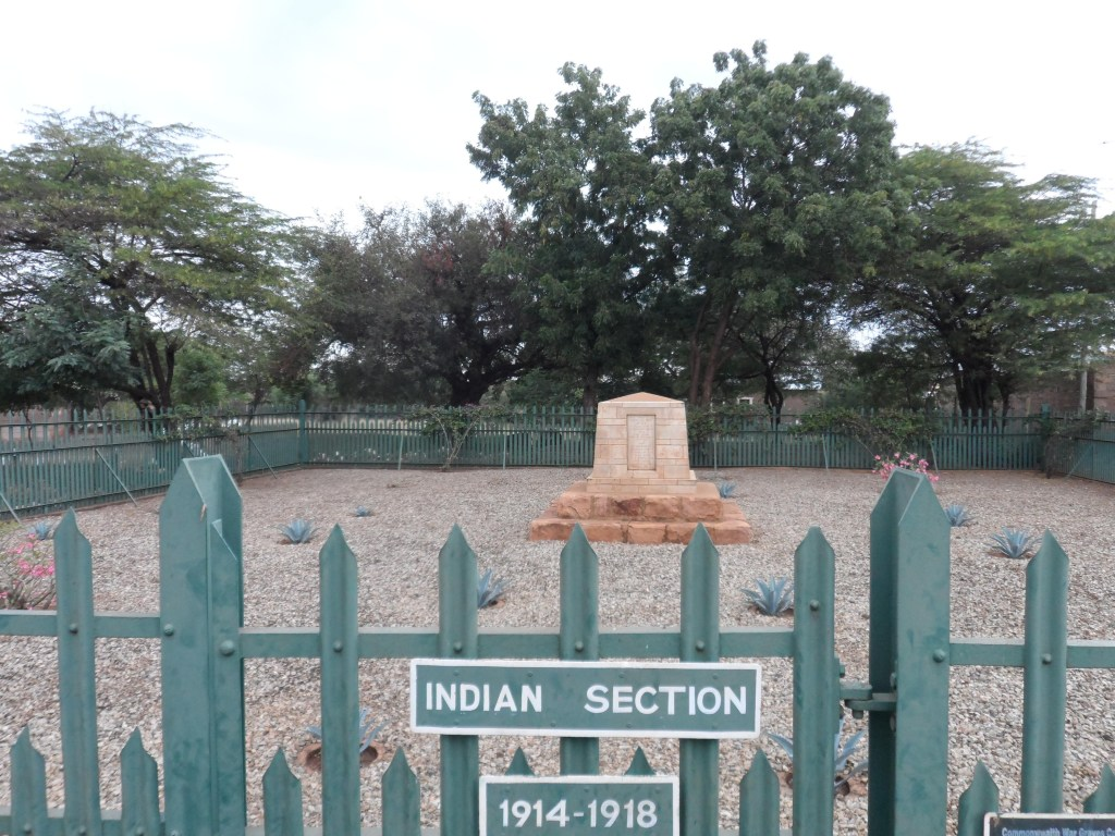 TAVETA INDIAN CEMETERY - CWGC