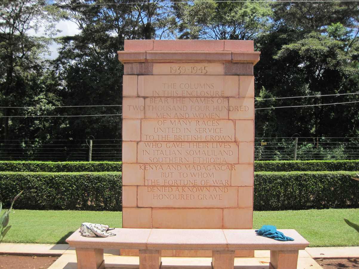EAST AFRICA MEMORIAL - CWGC