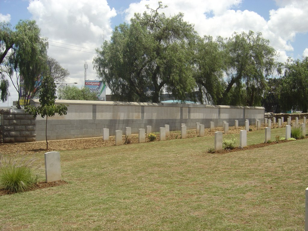 NAIROBI BRITISH AND INDIAN MEMORIAL - CWGC