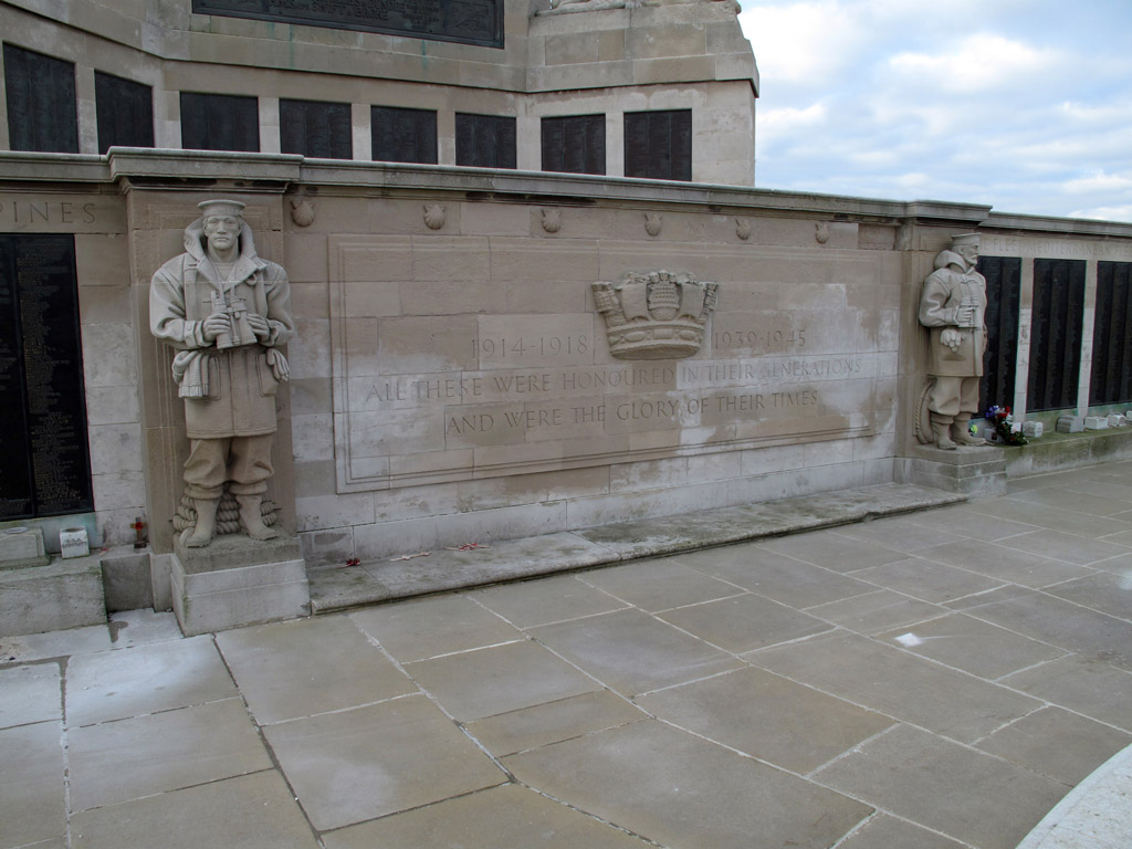 PORTSMOUTH NAVAL MEMORIAL - CWGC