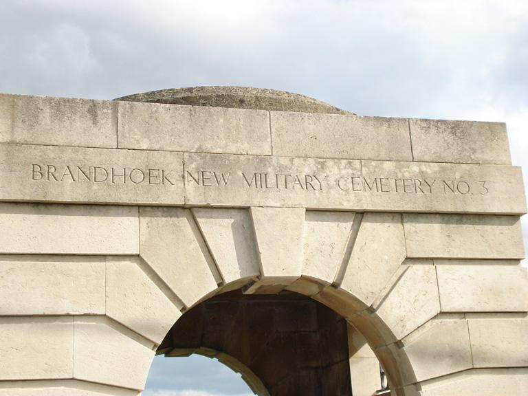 BRANDHOEK NEW MILITARY CEMETERY NO.3 - CWGC