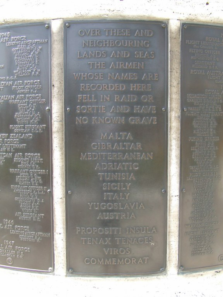 MALTA MEMORIAL - CWGC
