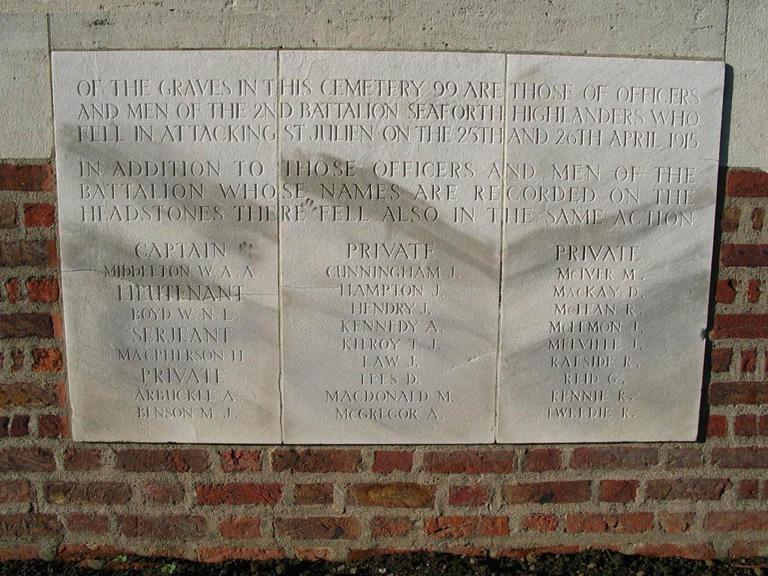 SEAFORTH CEMETERY, CHEDDAR VILLA - CWGC