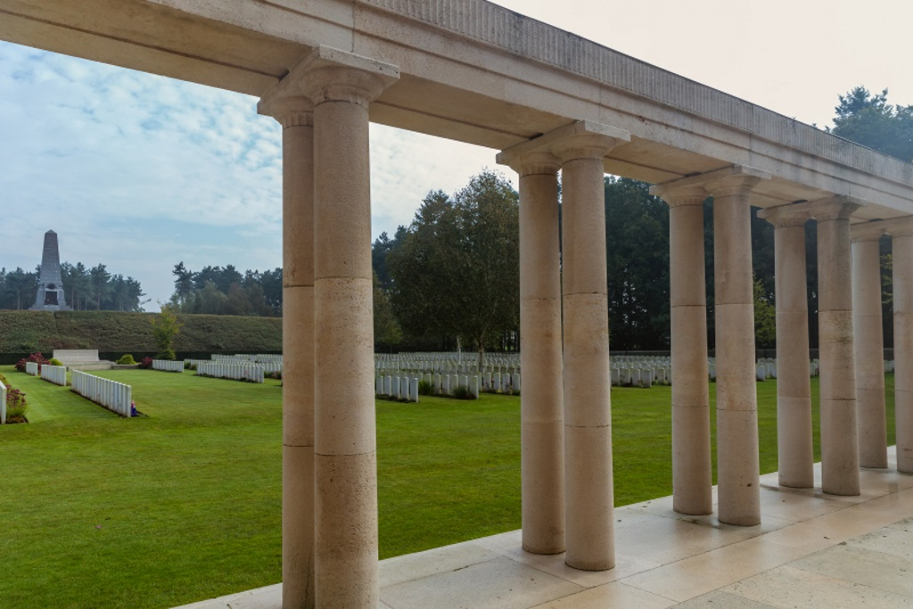 BUTTES NEW BRITISH CEMETERY (N.Z.) MEMORIAL, POLYGON WOOD - CWGC
