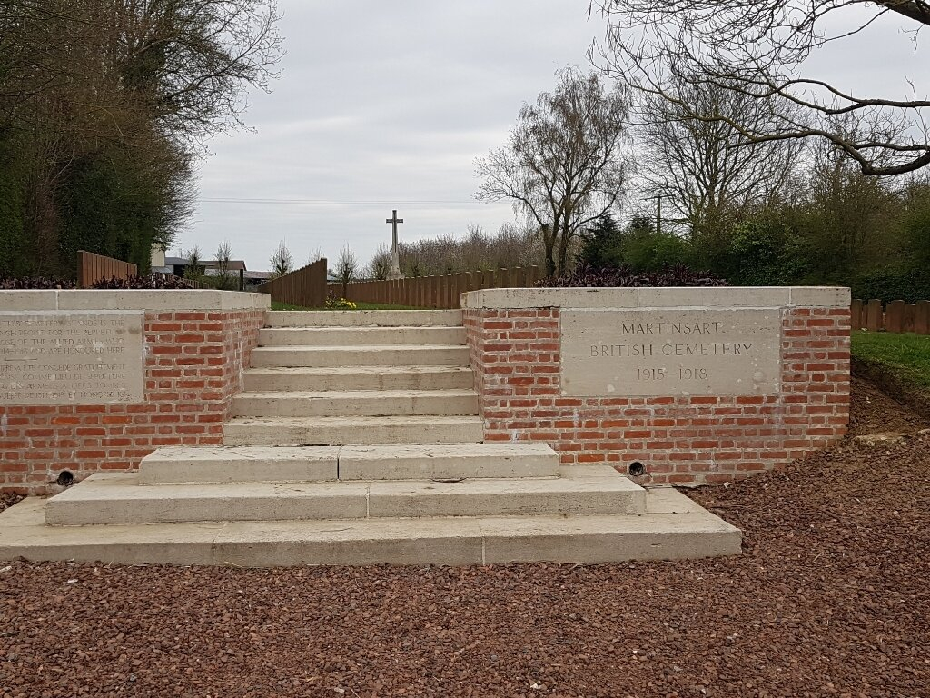 MARTINSART BRITISH CEMETERY - CWGC