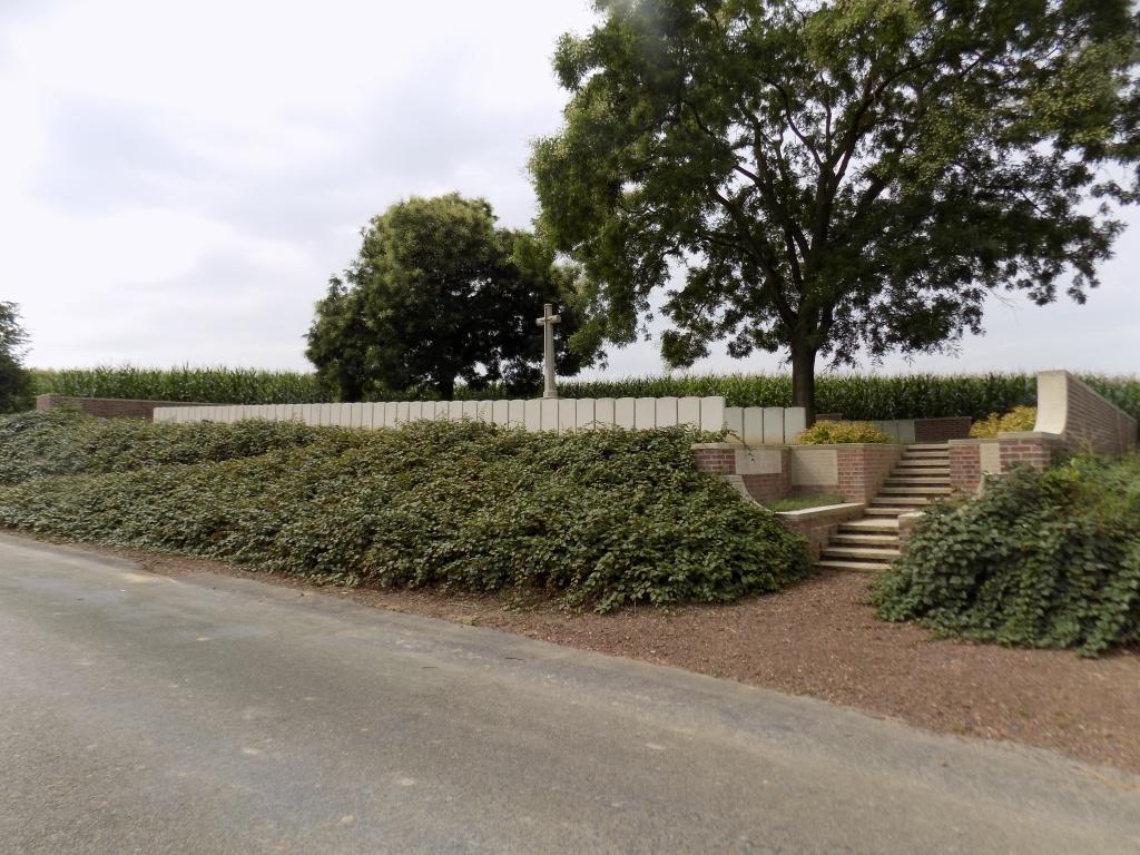 RAMICOURT BRITISH CEMETERY - CWGC