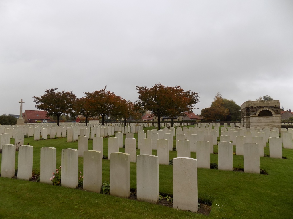 BROWN'S ROAD MILITARY CEMETERY, FESTUBERT - CWGC