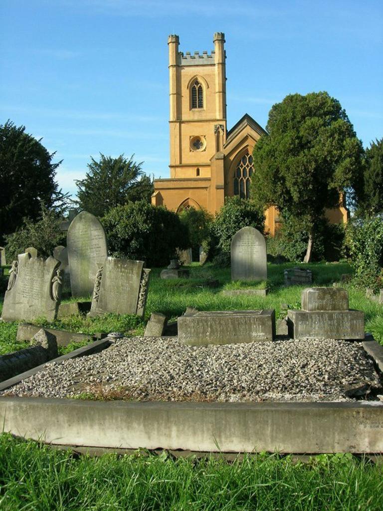 MITCHAM (CHURCH ROAD) BURIAL GROUND - CWGC