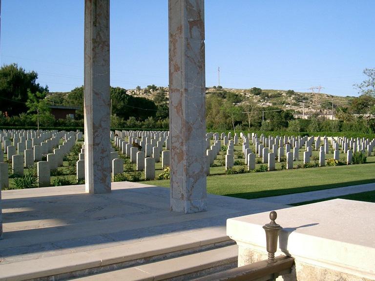 SYRACUSE WAR CEMETERY, SICILY - CWGC