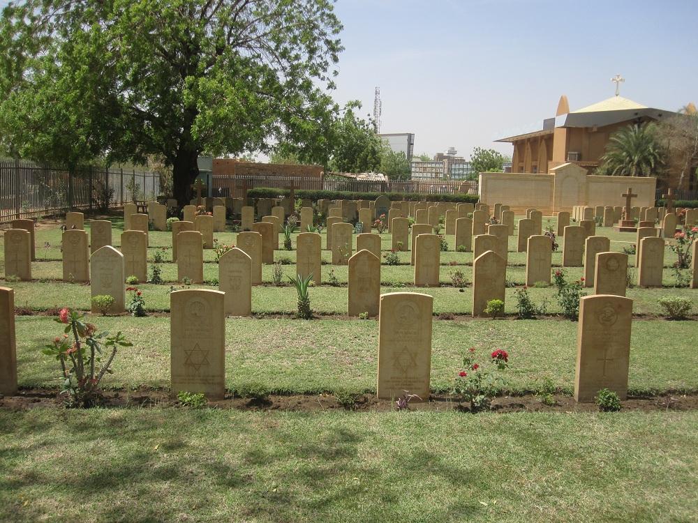 KHARTOUM WAR CEMETERY - CWGC
