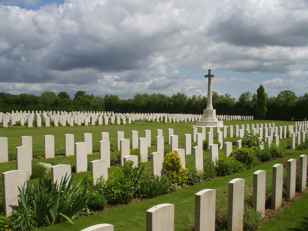 ST. CHARLES DE PERCY WAR CEMETERY - CWGC