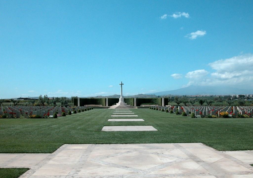 CATANIA WAR CEMETERY, SICILY - CWGC