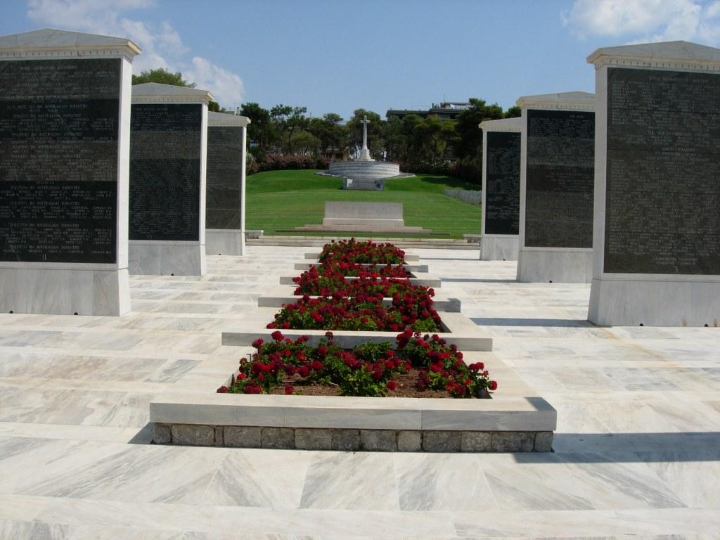 ATHENS MEMORIAL - CWGC