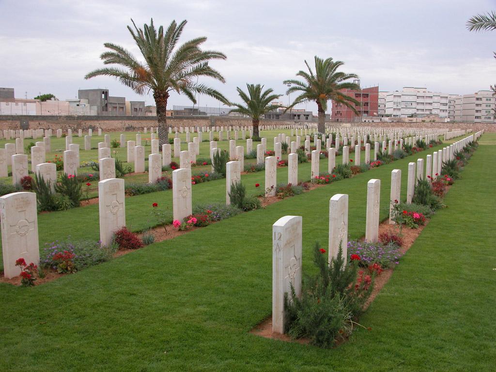TRIPOLI WAR CEMETERY - CWGC