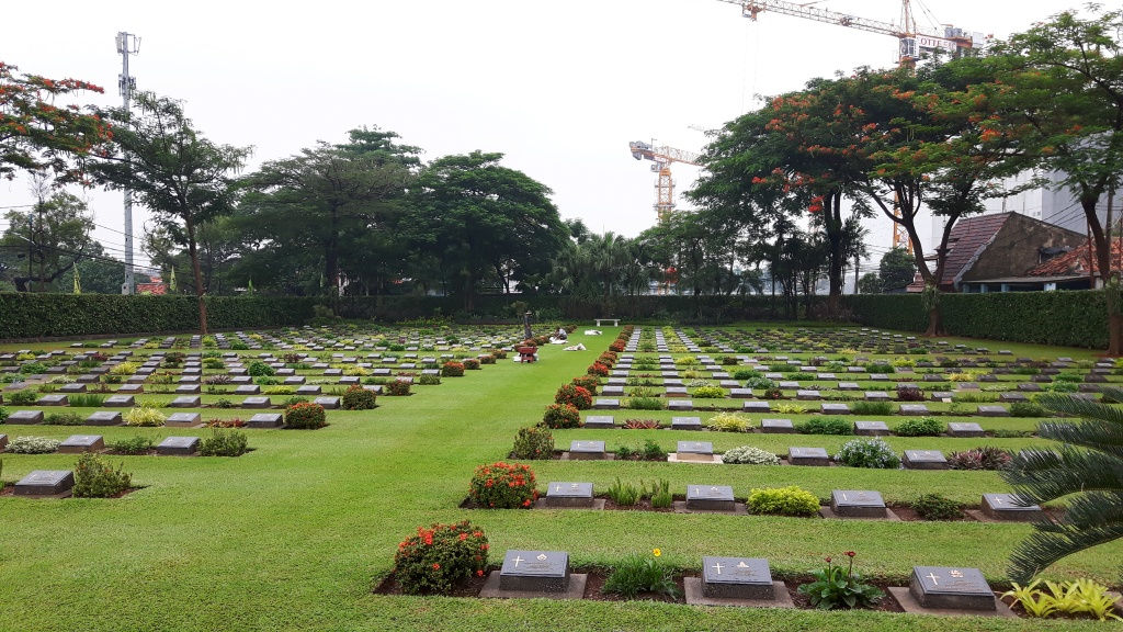 JAKARTA WAR CEMETERY - CWGC