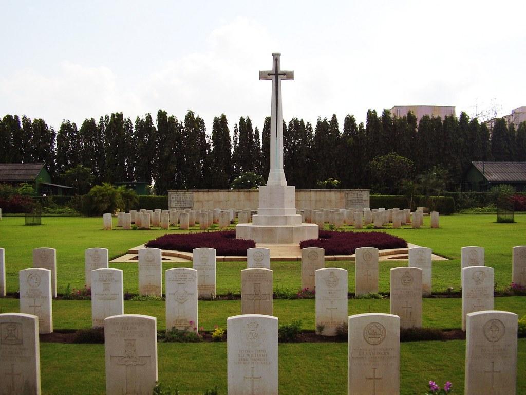 MADRAS WAR CEMETERY, CHENNAI - CWGC