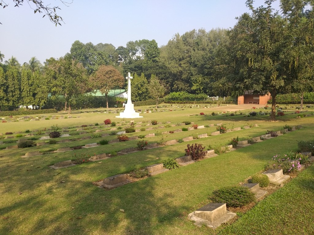 CHITTAGONG WAR CEMETERY, CHATTOGRAM - CWGC