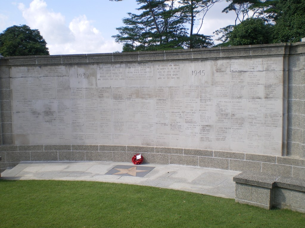 SINGAPORE CREMATION MEMORIAL - CWGC