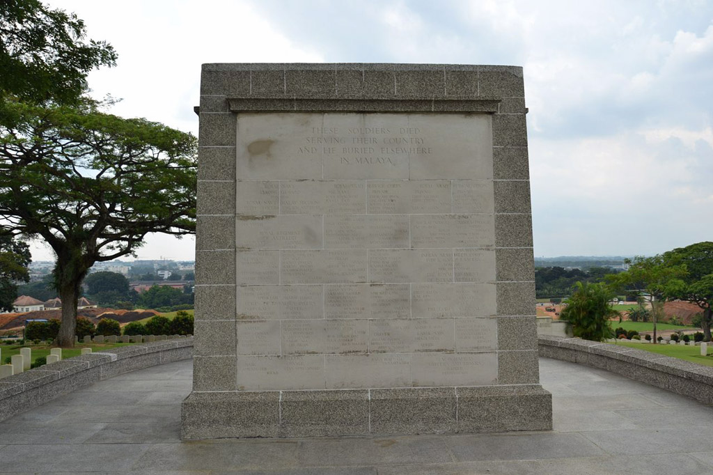 SINGAPORE (UNMAINTAINABLE GRAVES) MEMORIAL - CWGC
