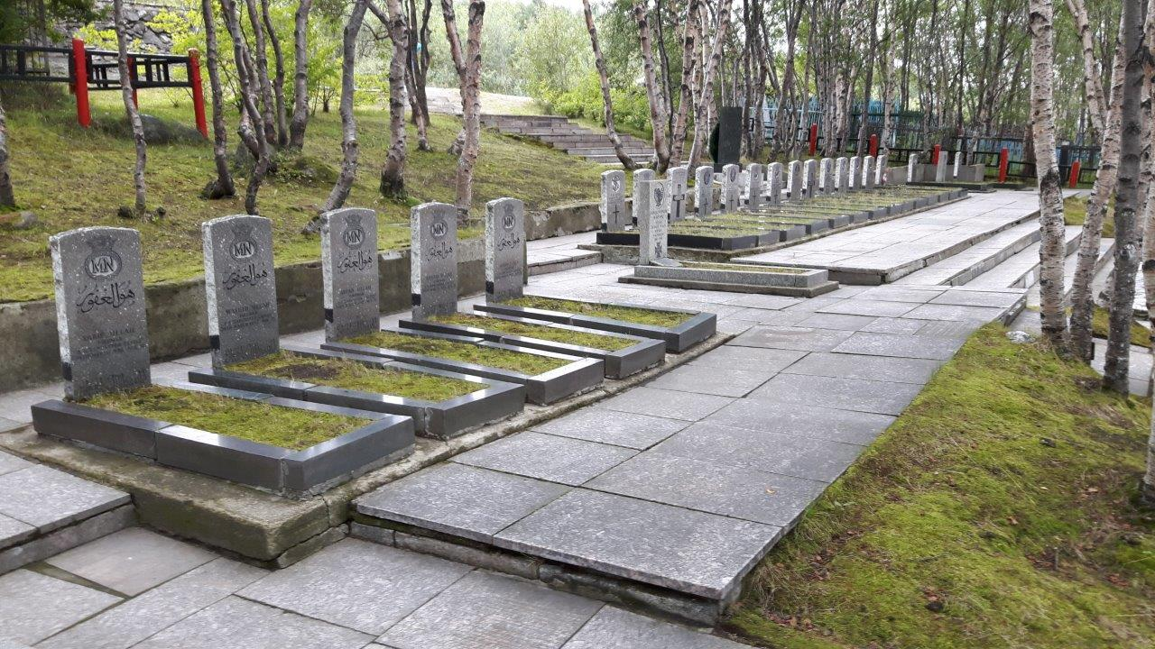 MURMANSK RUSSIAN CEMETERY EXTENSION - CWGC