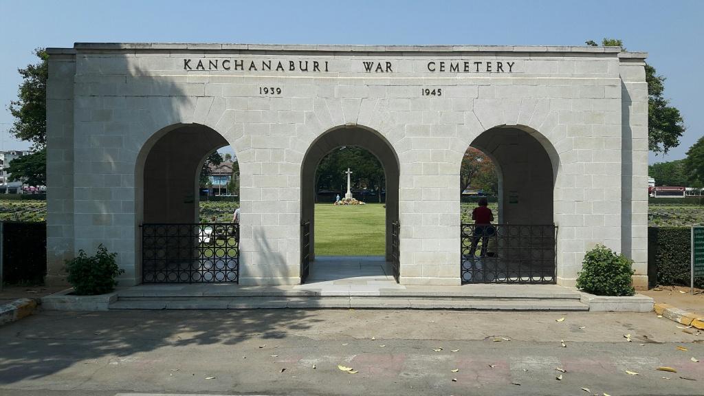 KANCHANABURI WAR CEMETERY - CWGC