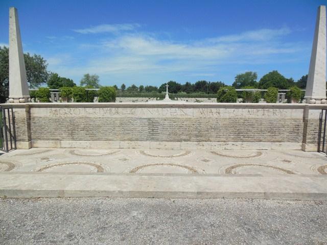 MORO RIVER CANADIAN WAR CEMETERY - CWGC