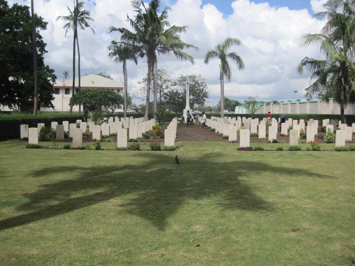MOMBASA (MANYIMBO) WAR CEMETERY - CWGC