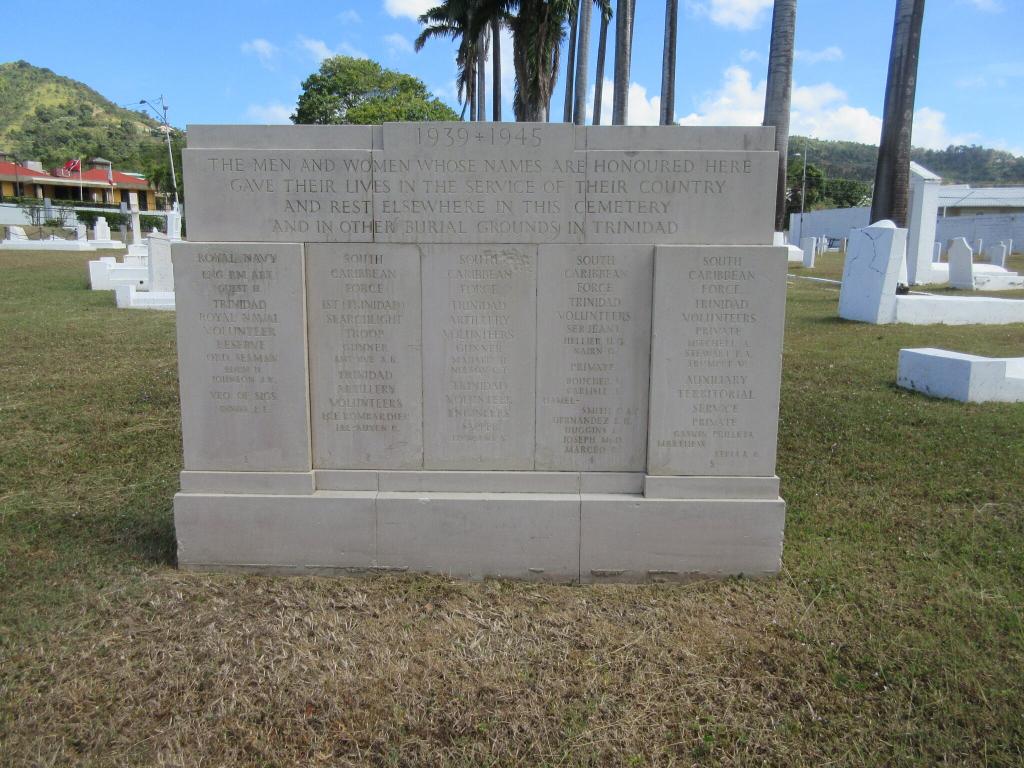 PORT OF SPAIN (ST. JAMES) MILITARY CEMETERY - CWGC