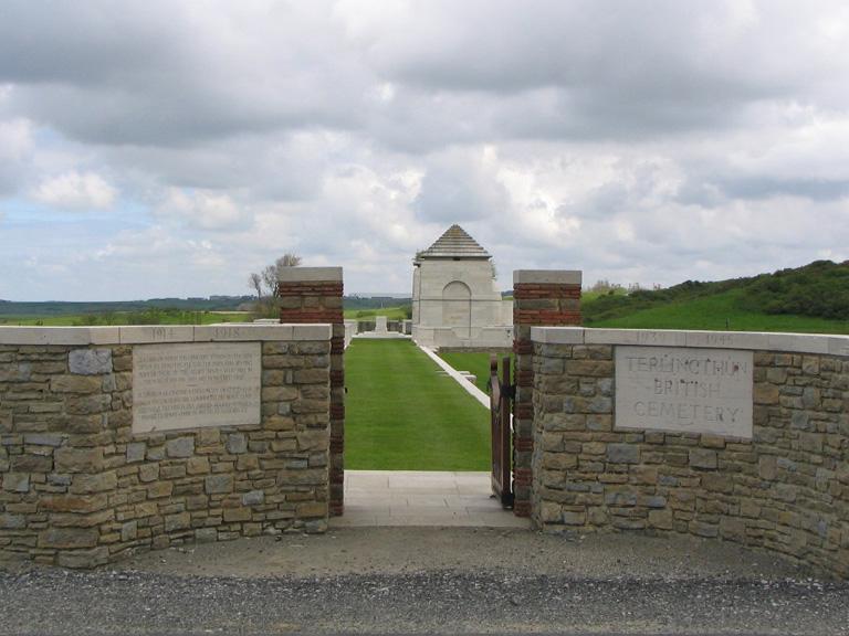 TERLINCTHUN BRITISH CEMETERY, WIMILLE - CWGC