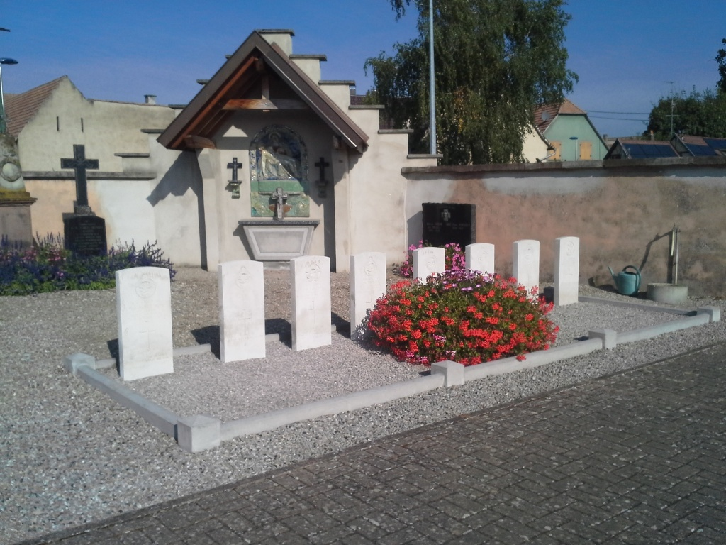 ARTOLSHEIM COMMUNAL CEMETERY - CWGC