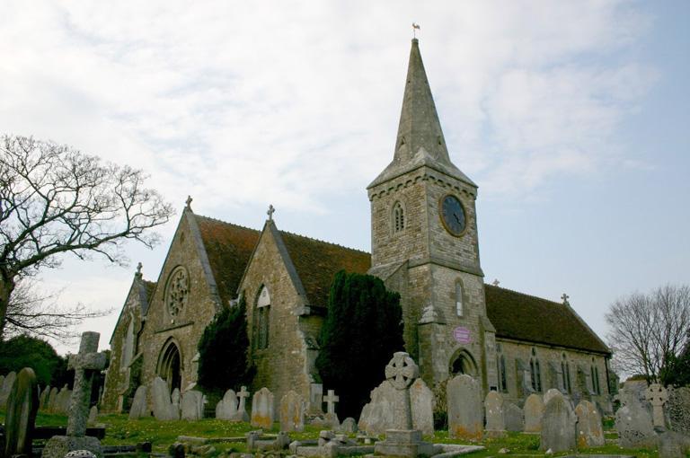 SANDOWN (CHRIST CHURCH) CHURCHYARD - CWGC
