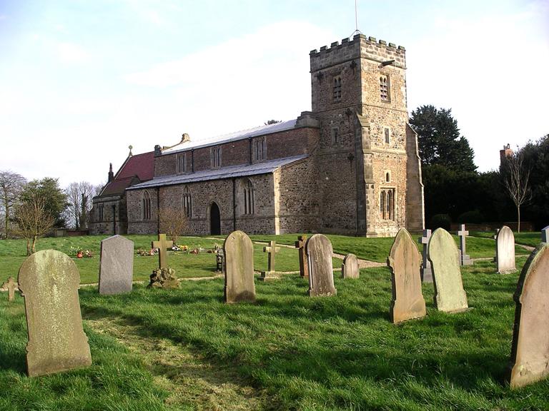 BRANDESBURTON (ST. MARY) CHURCHYARD - CWGC