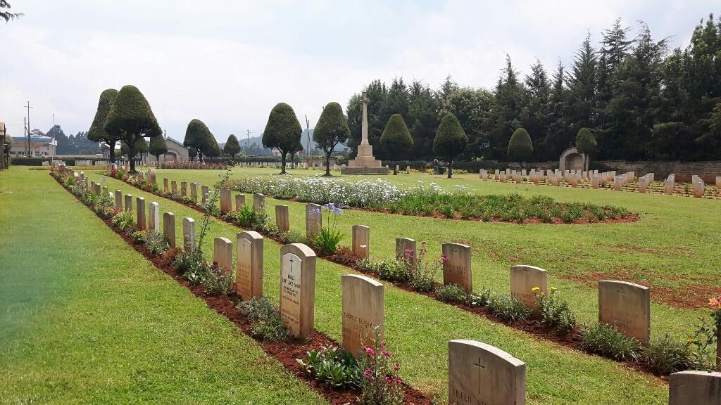 ADDIS ABABA WAR CEMETERY - CWGC