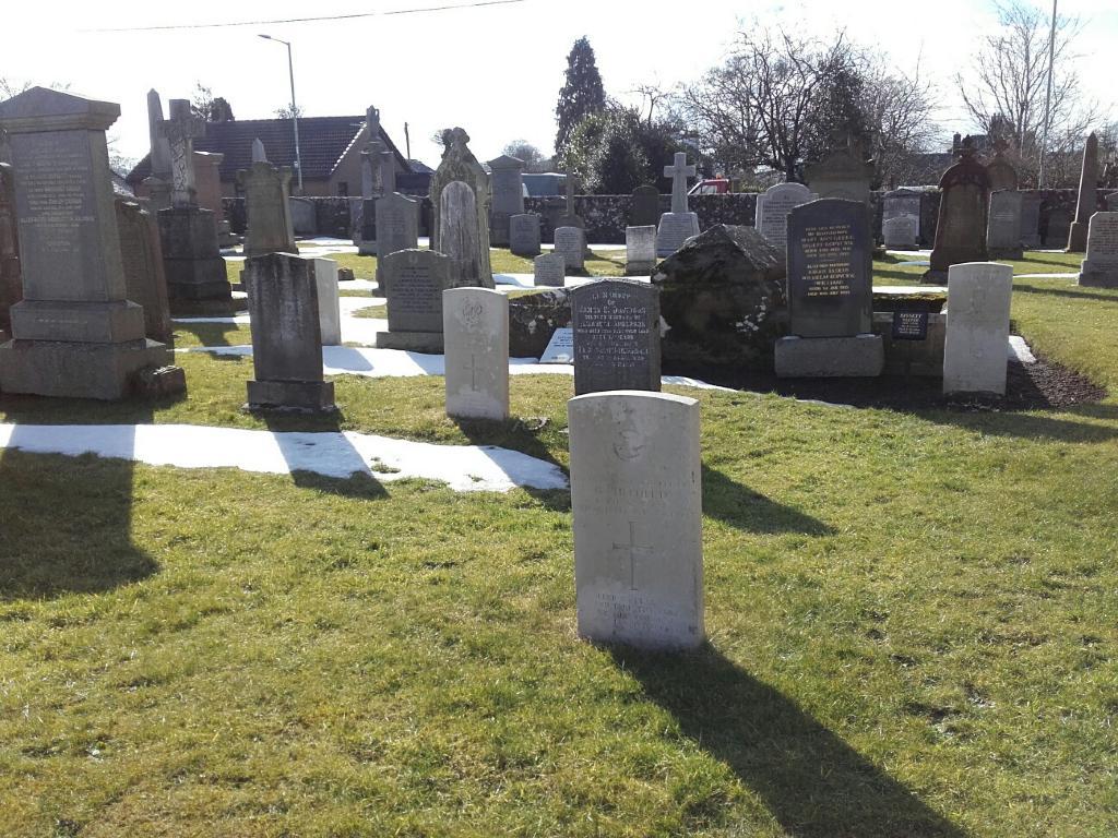 COUPAR ANGUS PARISH CHURCHYARD - CWGC
