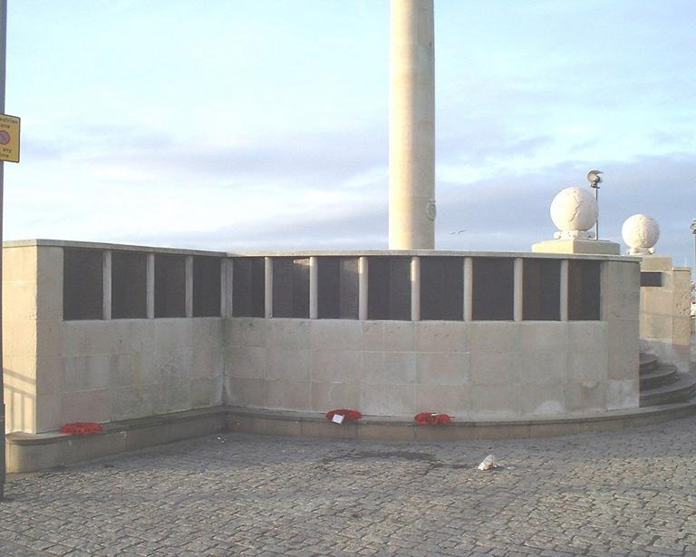 LIVERPOOL NAVAL MEMORIAL - CWGC