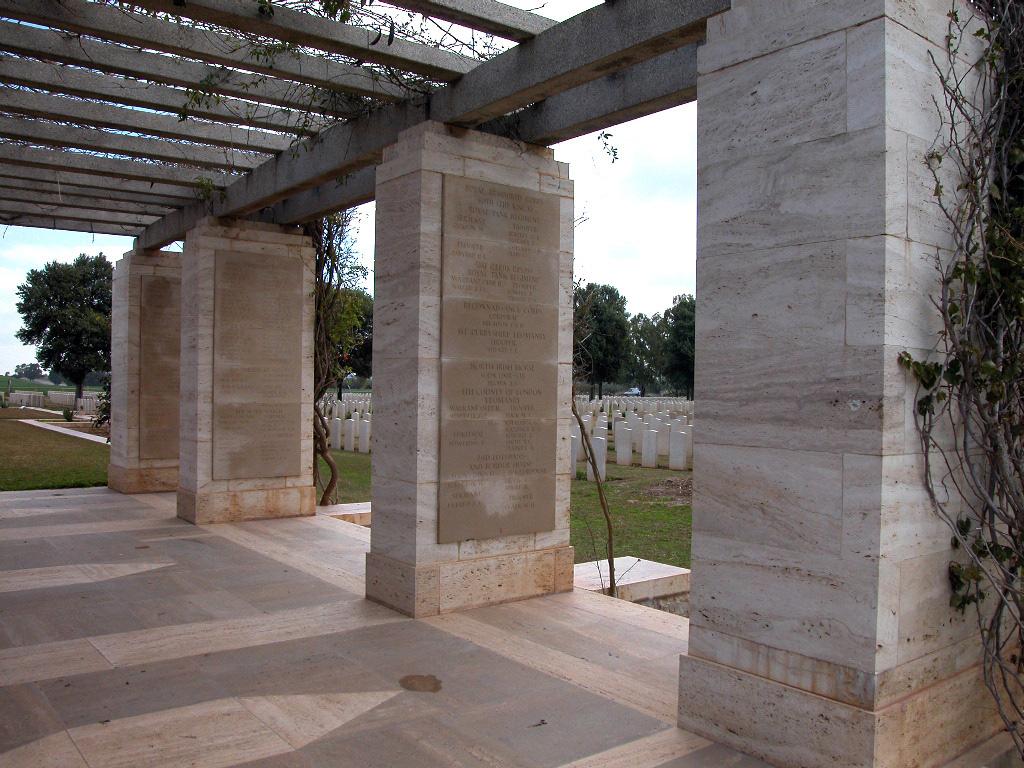 MEDJEZ-EL-BAB MEMORIAL - CWGC