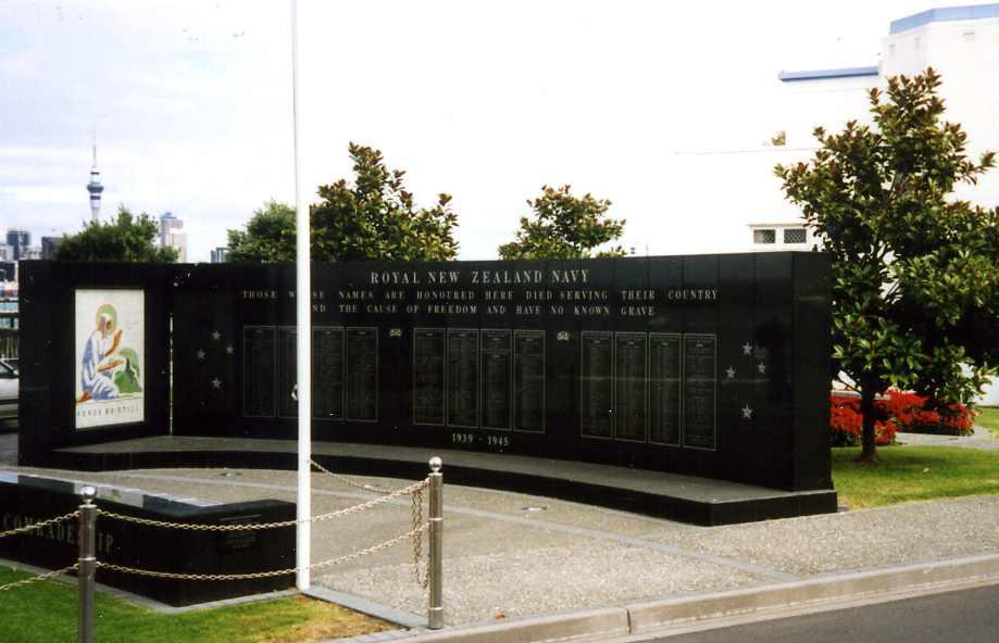NEW ZEALAND NAVAL MEMORIAL, DEVONPORT, AUCKLAND - CWGC