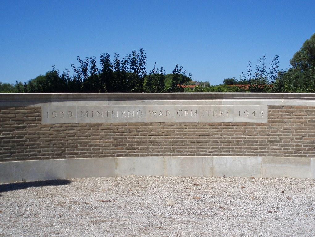 MINTURNO WAR CEMETERY - CWGC