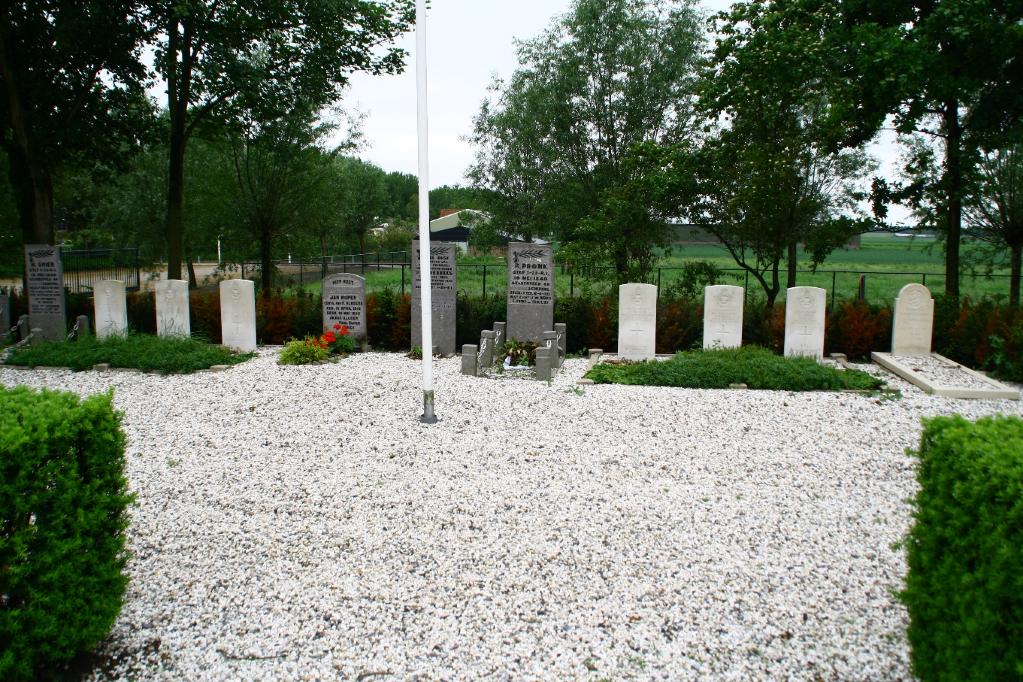 HAARLEMMERMEER (HOOFDDORP) GENERAL CEMETERY - CWGC