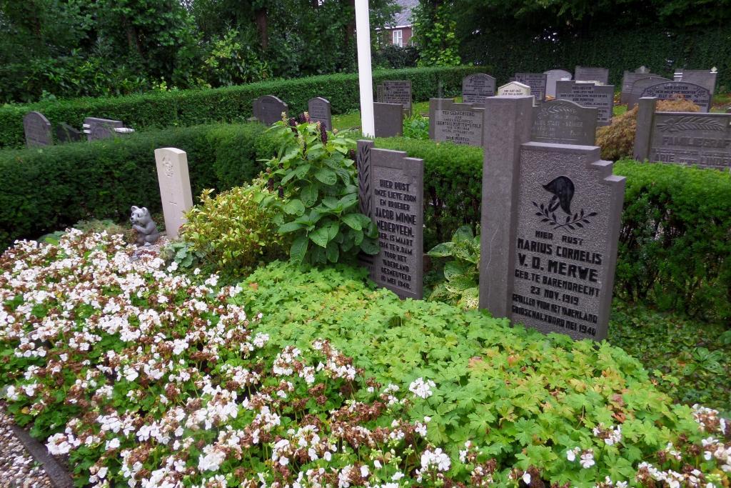 BARENDRECHT GENERAL CEMETERY - CWGC