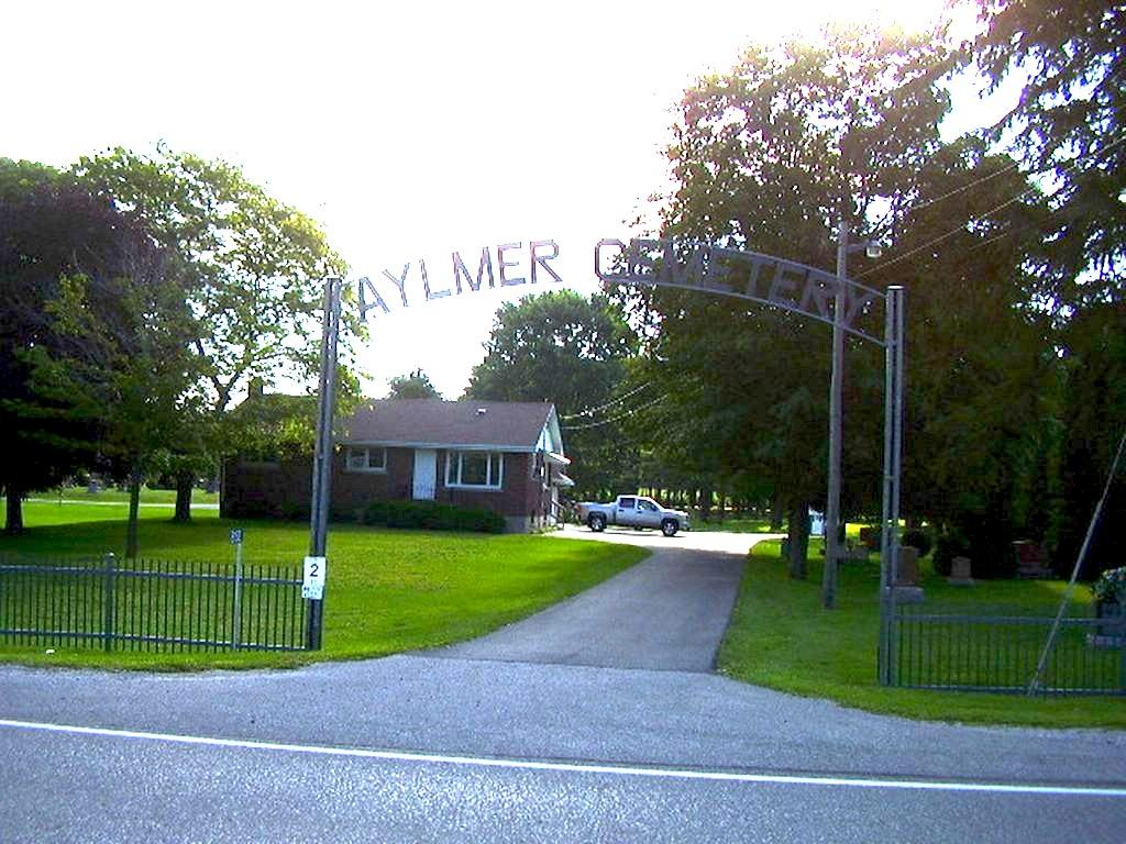 AYLMER CEMETERY - CWGC