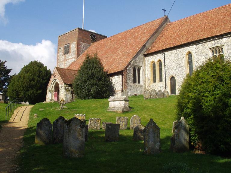 CHERITON (ST. MICHAEL) CHURCHYARD - CWGC