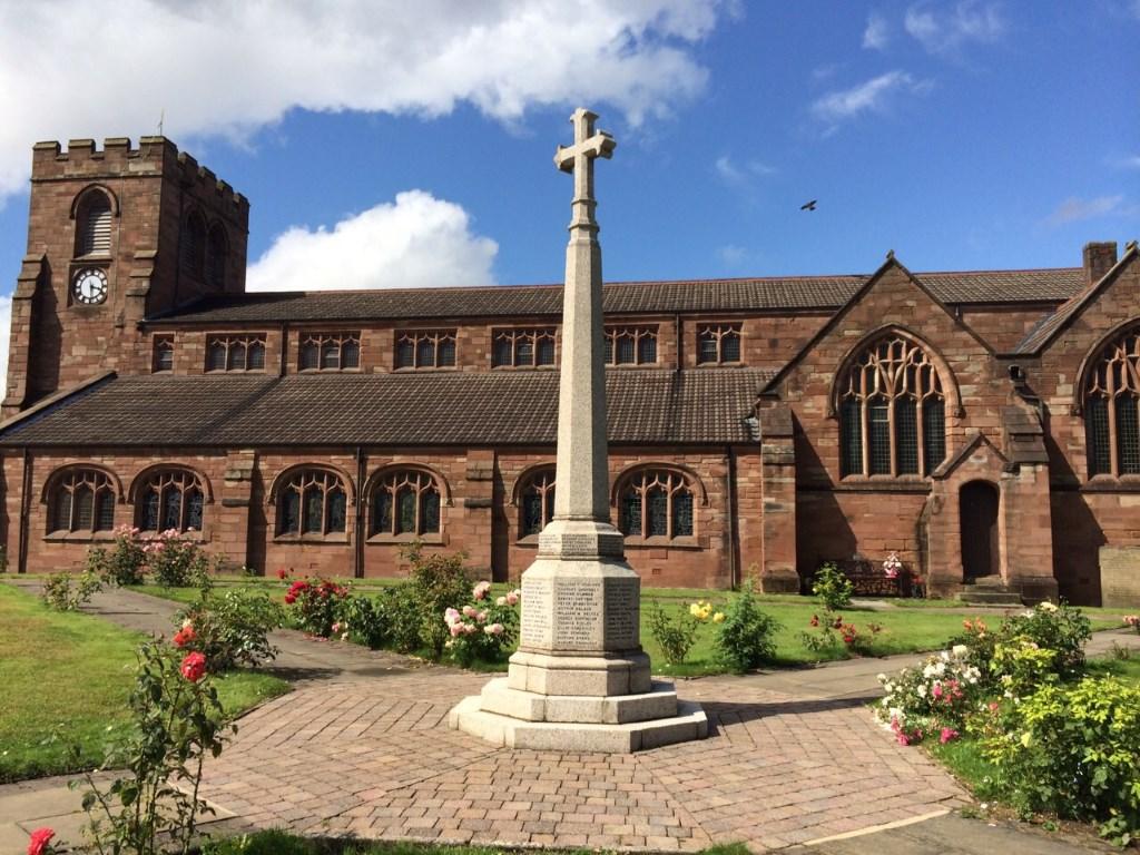 ASHTON-IN-MAKERFIELD (ST. THOMAS) CHURCHYARD - CWGC