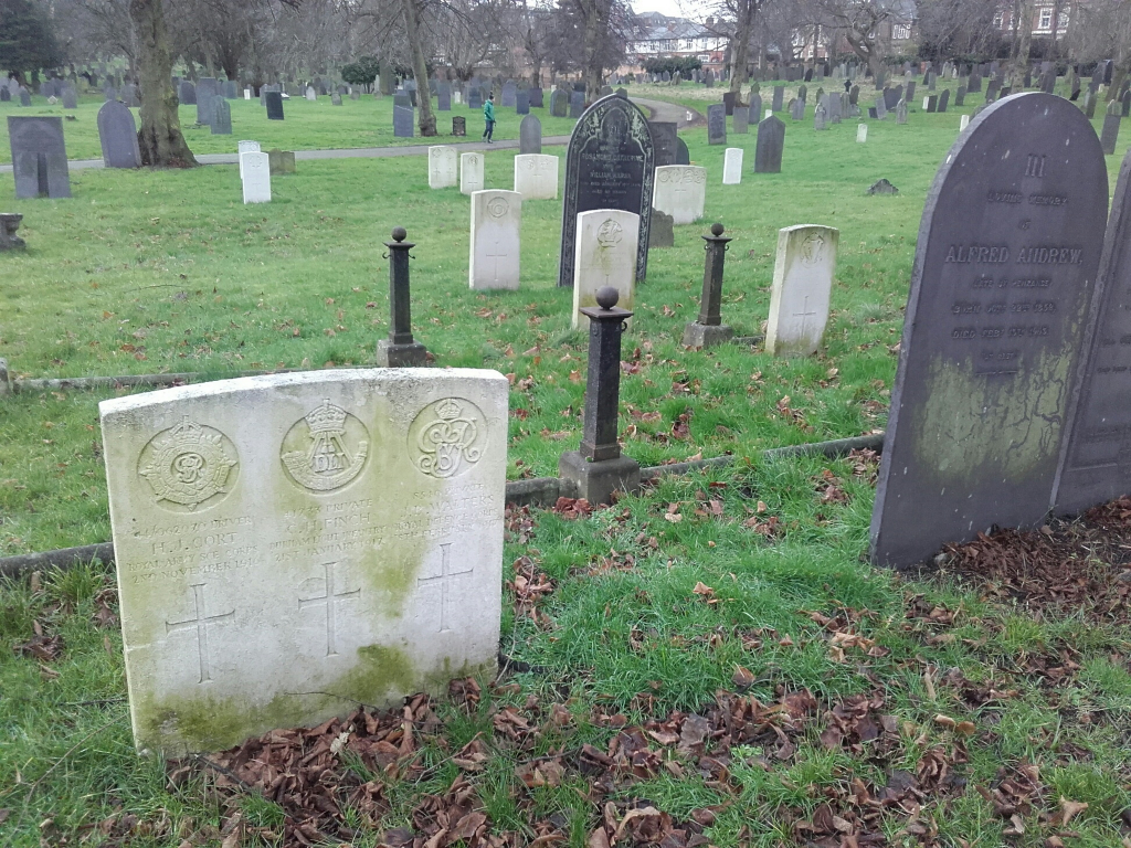 NOTTINGHAM GENERAL CEMETERY - CWGC