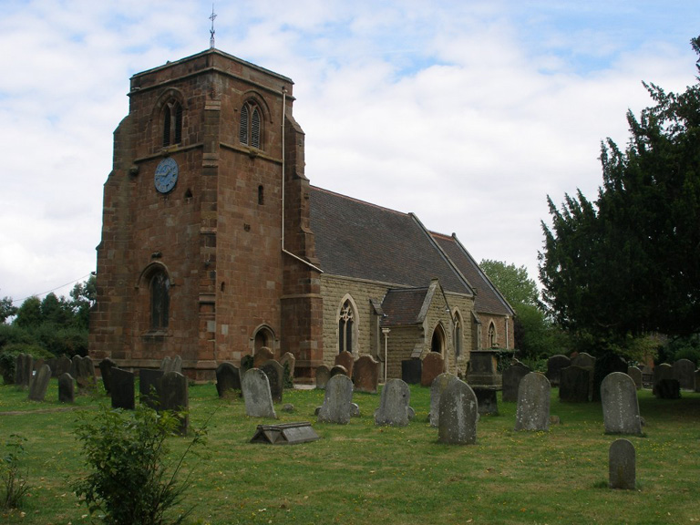 NETHER WHITACRE (ST. GILES) CHURCHYARD - CWGC